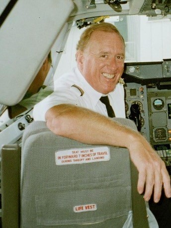 Obit Photo Stu Smith cockpit9701